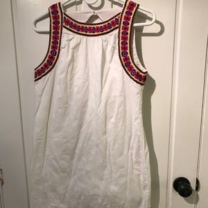 Embroidered Old Navy Summer Dress